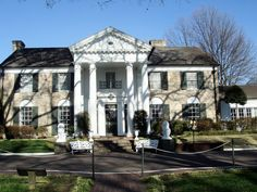 Graceland - Memphis, Tennessee. Elvis's home.