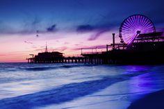 Santa Monica Pier. Pacific Park and Bubba Gump Shrimp Co... AMAZING!