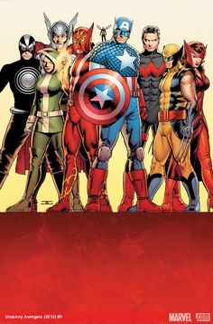 Check out the cover to Uncanny Avengers #5 by John Cassaday and check out the transcript to yesterday's Marvel: Next Big Thing Liveblog with writer Rick Remender and editor Tom Brevoort!     https://marvel.com/news/story/19705/marvel_now_uncanny_avengers_liveblog