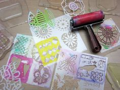 Printing with Gelli