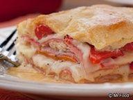 Italian Layer Bake...just like a hot Italian Sub!