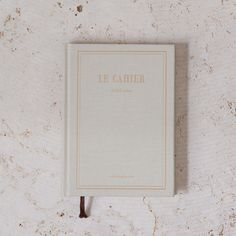 Le Cahier Notebook