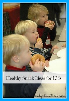 healthy snack ideas for kids - #5 will surprise you! #parenting #momtips