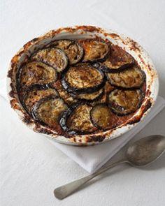 Eggplant with Tomatoes