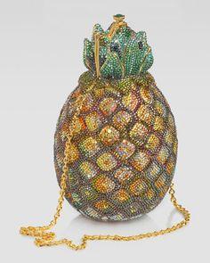 Pineapple Minaudiere by Judith Leiber