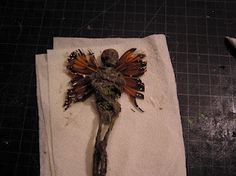 Tutorial  - prop Fairy mummies and a bit of the lore behind them