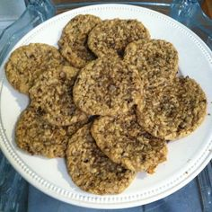 Oatmeal, Chocolate Chip, Coconut Cookies
