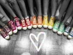 rainbow converse love - Google Search