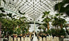 Crystal Garden at the Navy Pier is one of the most unique wedding venues in Chicago.