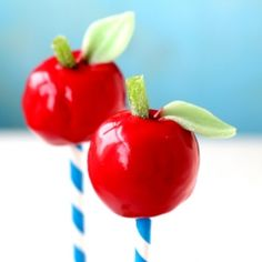 Apple Cake-Pops, Fall or Back to School Party