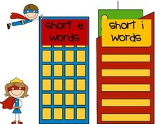 Super Heroes needed to complete these puzzling activities! This BIG Short Vowel Word Sort Kit is 28 pages. It includes:  * Short Vowel word cards  * Short Vowel sorting mats  * Multiple recording pages  * Worksheet page  * Short Vowel book  * Short Vowel Go Fish Game  Enjoy sharing these with your Super Heroes!   $4.00