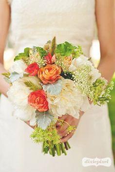 rose, coral, wedding bouquets, weddings, bride bouquets, wedding flowers, flower photos, white bouquets, peoni