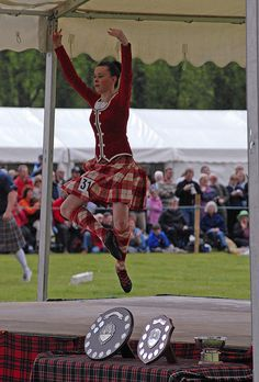 highland fling, traditional highland dancing