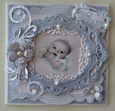 Mijn kaarten bloggie scrapbook layouts, frame, baby cards, blue, mijn kaarten, baby boys, line dances, babi card, kaarten bloggi