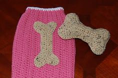 Posh Pooch Designs Dog Clothes: Dog Bone Applique and Toy Crochet Pattern
