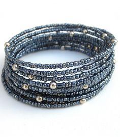 Beautiful beaded bracelet in two colourways.