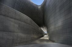 Dongdaemun Design Plaza in Seoul [South Korea] by Zaha Hadid Architects