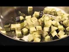 Watch how to make a classic vegetable casserole that uses all the tastiest veggies of summer. Slices of eggplant, zucchini, bell peppers, mushrooms, and tomatoes are combined with Mediterranean herbs and grated Parmesan cheese for a healthy vegetarian dinner