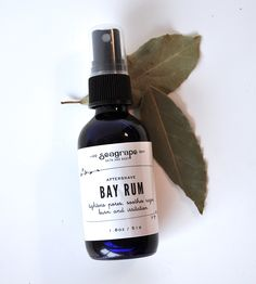 Bay Rum Aftershave by Sea Grape Bath + Body