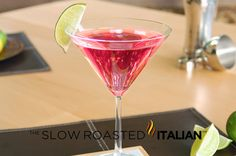 The Classic Ladies Martini - The Cosmopolitan