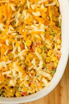 Hot Corn and Cheese Dip