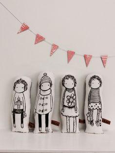 Dolls by nakedlunge.bigcartel.com