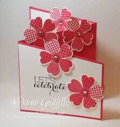 Z fold card with Dawn