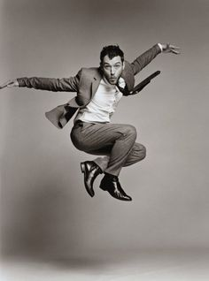 """""""When you step back and watch people, you realize that we use every single body part. Movement, dance - I find it genius because it's ultimate expression, really."""" ~ Jude Law"""