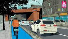 Bow to Stratford CS2 shows TFL adopting Dutch principles for cycle provision in London.
