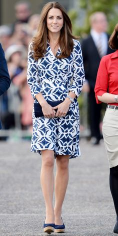 Kate Middleton's DVF Dress Can Be Yours! Click to shop!