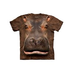Hippo Head T-Shirt Youth now featured on Fab.