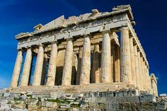 Athens, Greece-Parthenon