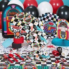 50's party theme