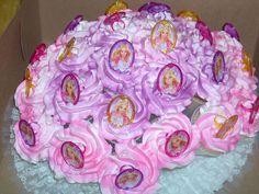 Barbie Cupcake Bouquet - via Cake Central