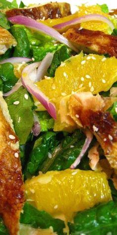 Asian Chicken Salad With Orange Vinaigrette