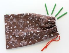 Organic Fabric Goody Bags