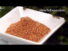 Taco Seasoning Recipe How To Make Taco Seasoning Video