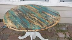 Refinished table.... the finish needs to be a little heavier for my taste