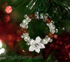 DIY CHRISTMAS ORNAMENTS | Homemade Christmas Ornament Ideas with Kids - My Little Me