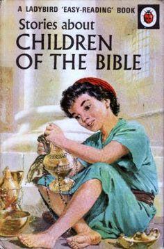 CHILDREN OF THE BIBLE Vintage Ladybird Book Bible Stories Series 606A
