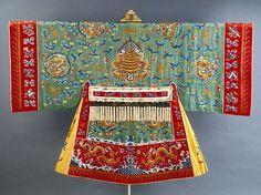 Daoist (Taoist) priest coat Nationality: Chinese ...