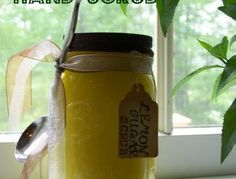 Lemon Sugar Hand Scrub {for Mom}