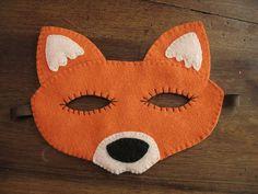fox mask. masque renard by Sosso82, via Flickr
