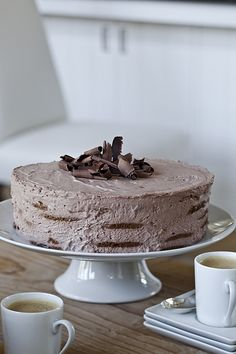 Barefoot Contessa mocha chocolate icebox cake...so delicious!!!