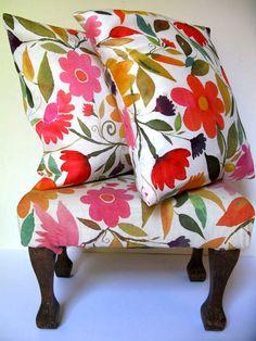 Fabric design by artist Kim Parker.