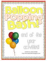 End of School Year Celebration...the Wizard of Boz: Balloon Popping Bash - Manic Monday! classroom, schools, mondays, wizards, year idea, school year, boz, balloons, balloon pop