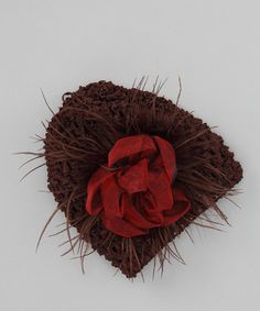 Take a look at this Brown Elise Crochet Beanie by Truffles Ruffles on #zulily today!