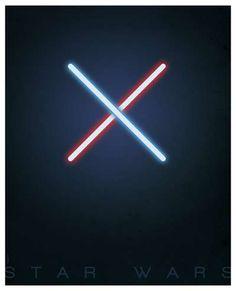 Star Wars Minimalist Print