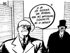 LAS MONEDAS DE JUDAS: El humor gráfico de Chumy Chumez. #Humor #Economía