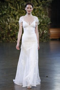 """Gothic Angel"" Claire Pettibone's Captivating Bridal Collection for Fall 2015"